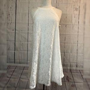 Betsey Johnson Sleeveless Lace Babydoll Dress Sz 4